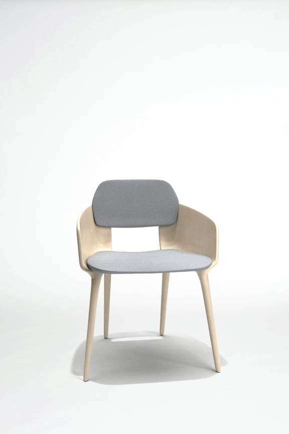 chaise serpentine cinna chaises et fauteuils. Black Bedroom Furniture Sets. Home Design Ideas
