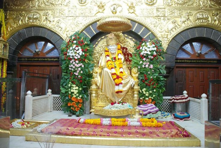 SHIRDI SAI BABA - SAB KA MALIK EK - GOD FOR ALL SHIRDI, MAHARASHTRA, INDIA by osk reddy