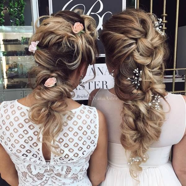 35 Wedding Updo Hairstyles For Long Hair From Ulyana Aster: 1000+ Images About Wedding Hairstyles On Pinterest