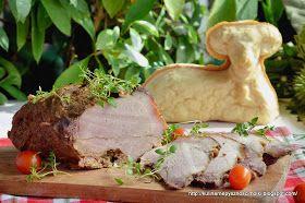Kulinarne  pyszności  Molki: Najlepsza szynka domowa z wolnowara