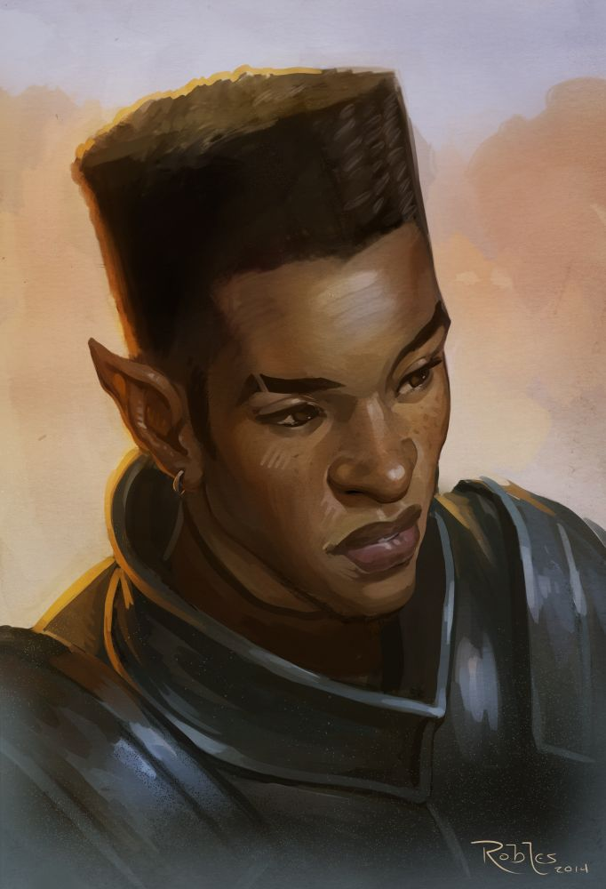 turakamu:sourcedumal:sourcedumal:nickroblesart:Elven Knight Paint Sketch (2014/Digital)Still really dig how this looks!Omfg. And he has the high top fade…. like…. glory…Ok, bringing this back because IT'S A GODDAMN ELF WITH A HIGH TOP FADE LIKE THIS IS LITERALLY THE EPITOME OF BLACKNESS IN HIGH FANTASY AND WE NEVER SEE THIS SHIT EVER.YESSS!!