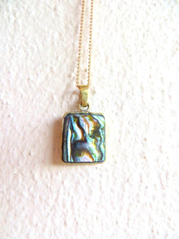 Abalone pendants by Picossa on Etsy