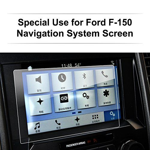 LFOTPP Ford F-150 2017 8 Inch Car Navigation Screen Protector, [9H] Clear Tempered Glass Infotainment Center Touch Display Screen Protector Anti Scratch High Clarity. For product info go to:  https://www.caraccessoriesonlinemarket.com/lfotpp-ford-f-150-2017-8-inch-car-navigation-screen-protector-9h-clear-tempered-glass-infotainment-center-touch-display-screen-protector-anti-scratch-high-clarity/