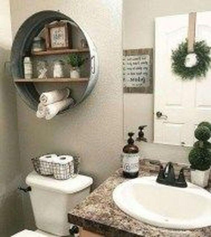 48 Fresh And Modern Bathroom Decoration Ideas