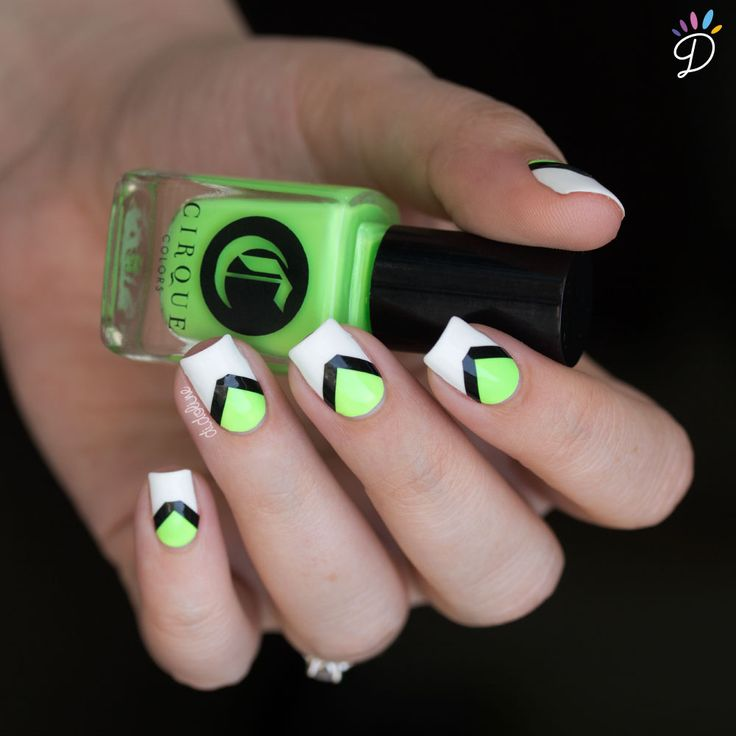 1000 id es propos de ongles fluo sur pinterest n on ongles d 39 t ongles style plage et - Ongle rose fluo ...