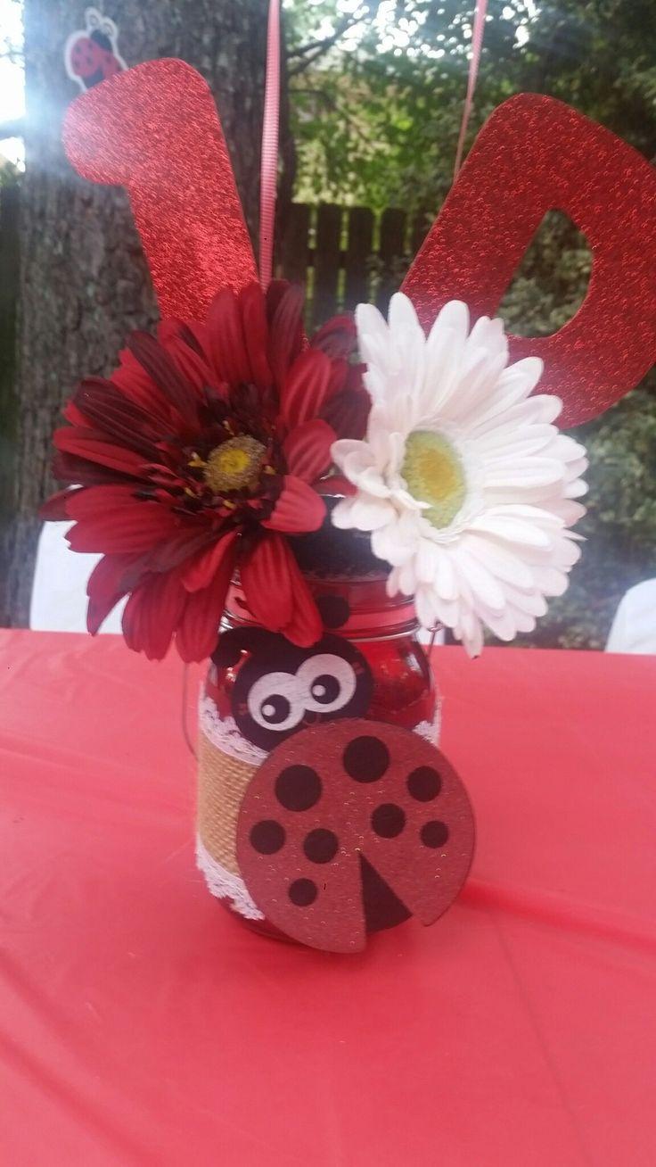 Best ideas about ladybug centerpieces on pinterest