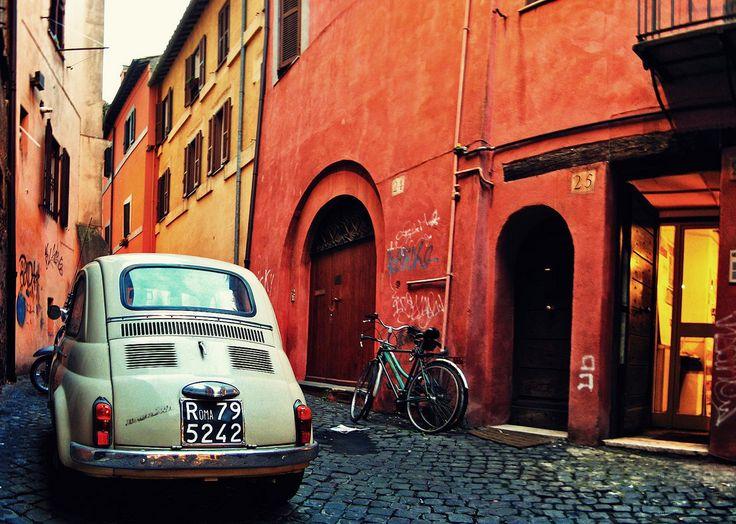 Little Car Roma #TuscanyAgriturismoGiratola