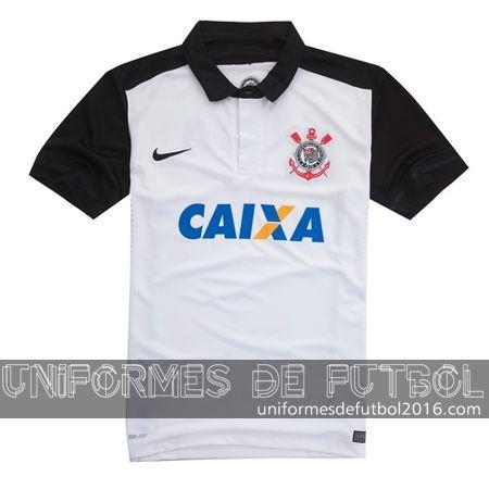 Venta de Jersey local para uniforme del Tailandia Corinthians 2016