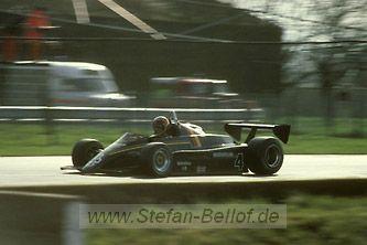 Stefan Bellof - Maurer MM83 BMW/Heidegger - Maurer Motorsport - XXXV International Tropy (Silverstone) - 1983 European Championship for F2 Drivers, round 1