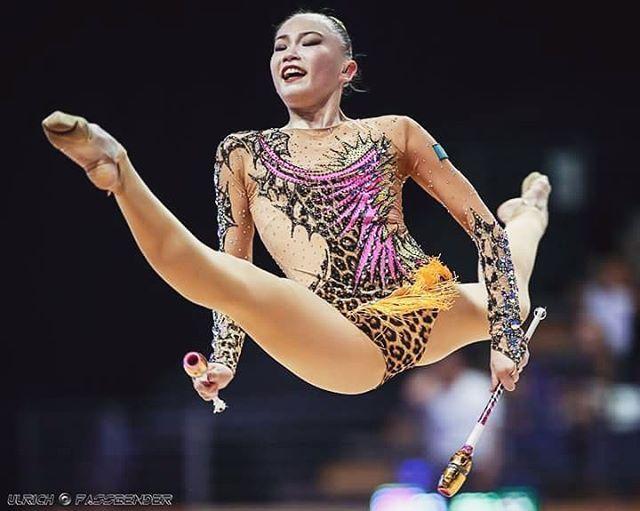 🐯 #rhythmicgymnastics #clubs #tagsforlikers #berlinmasters2016 #loving_rhythmic #ashirbayeva