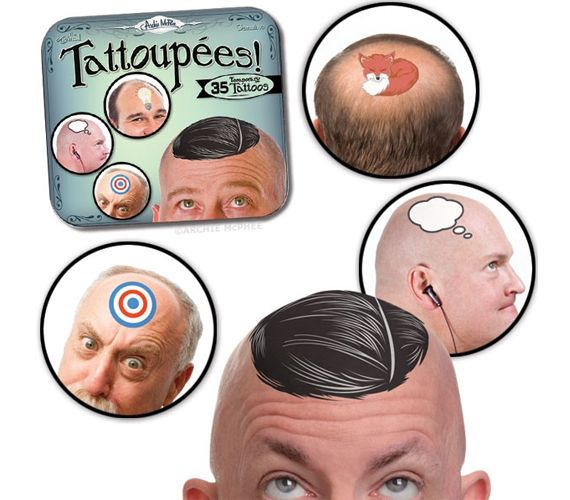 13 best bald spots images on pinterest funny pics for Tattoo bald spot