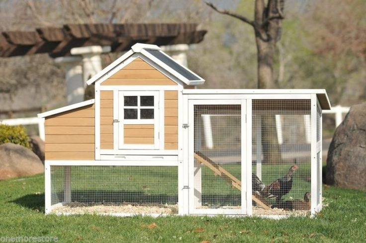 Chicken Coop Hen House Wooden Victorian Teak Poultry Pet Hutch Cage Backyard New - http://pets.goshoppins.com/backyard-poultry-supplies/chicken-coop-hen-house-wooden-victorian-teak-poultry-pet-hutch-cage-backyard-new/