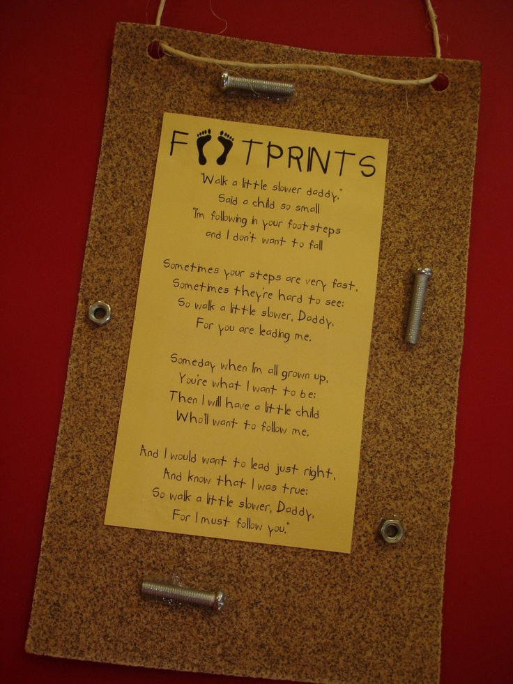 I cried just reading this.  Great father's day craft!