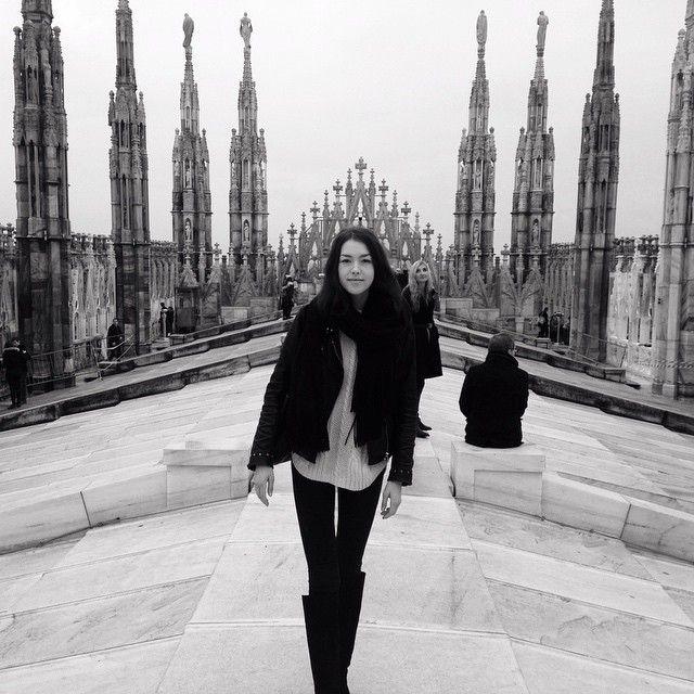 88 отметок «Нравится», 4 комментариев — Christel Karhu (@anmchris) в Instagram: «on top of the Duomo»