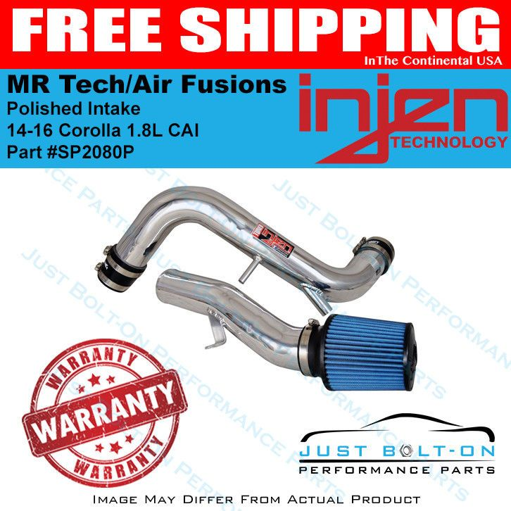 Details about Injen Fits 14-16 Corolla 1 8L CAI MR Tech/Air