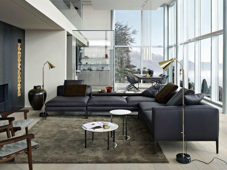 Kataloge zum Download und Preisliste für Michel | sofa aus leder By b&b italia, ecksofa aus leder Design Antonio Citterio, Kollektion michel
