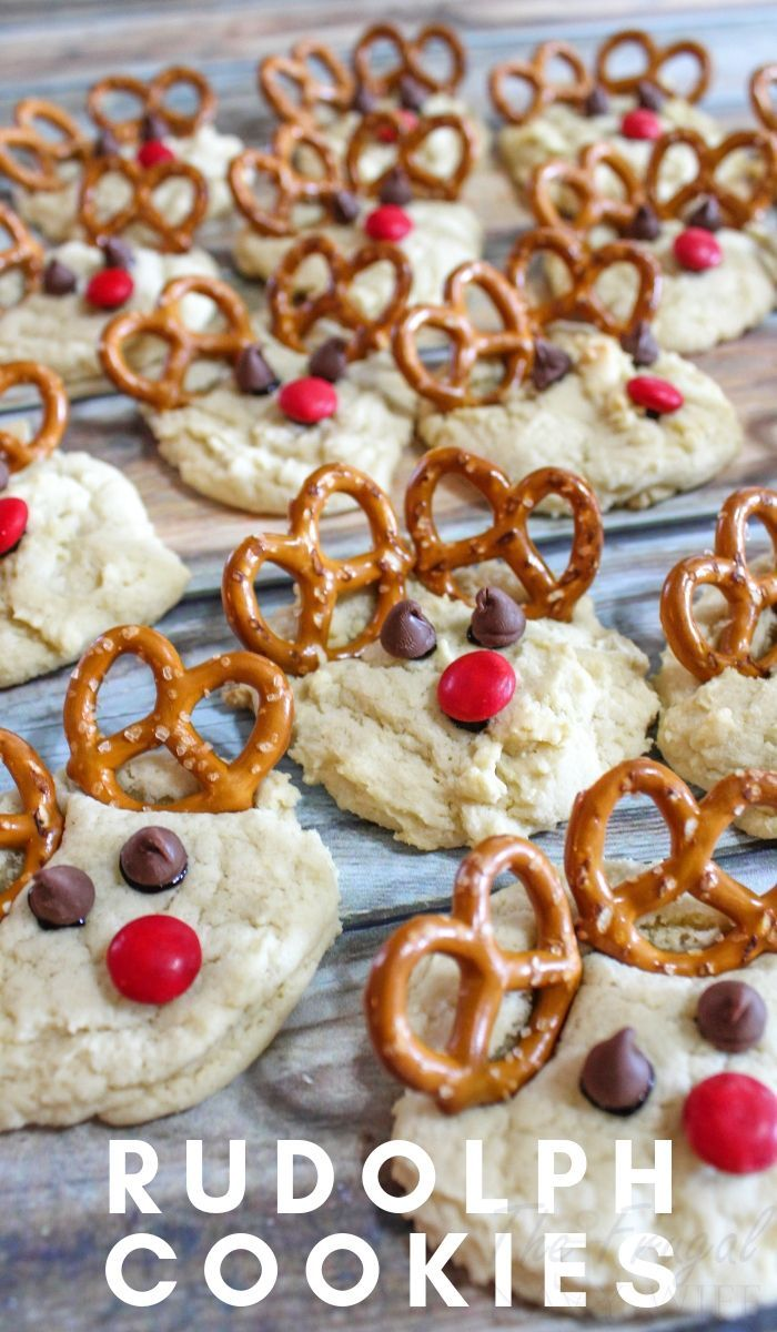 Rudolph Cookies Recipe Christmas Recipes Baking Recipes For