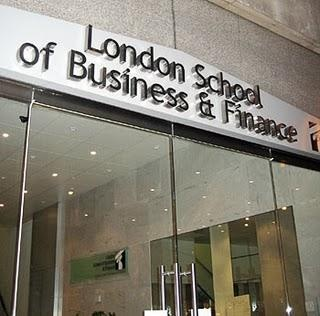 Entrance of the campus which is in the middle of London