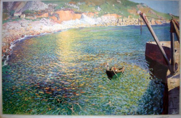 Lamorna Cove by Dame Laura Knight