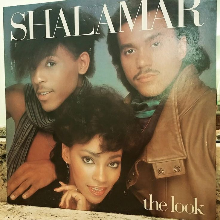 """The Look,"" Shalamar (1983) ... Produced by Leon F. Sylvers III. Co-producers: Shalamar, Bill Wolfer."