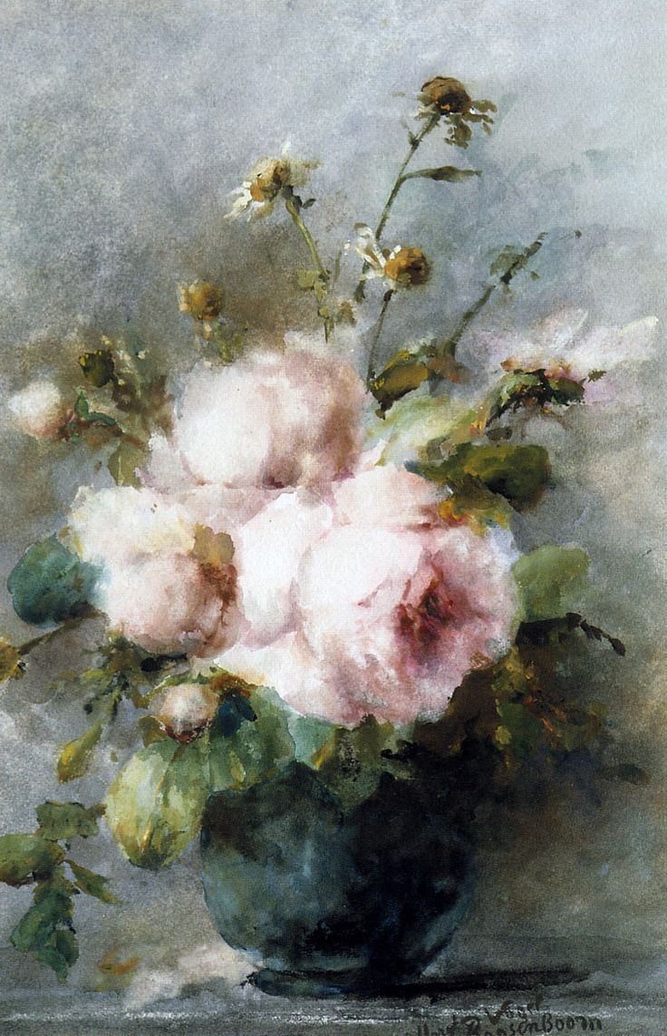 Roosenboom Margaretha Vase with roses Sun « Roses - search results « Art might - just art