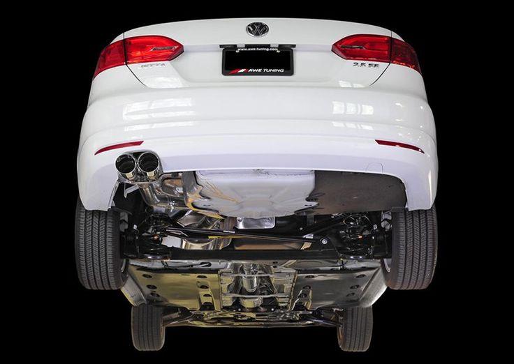 AWE Cat back Exhaust for VW, Jetta, 2.5L Sedan in stock on Sale!