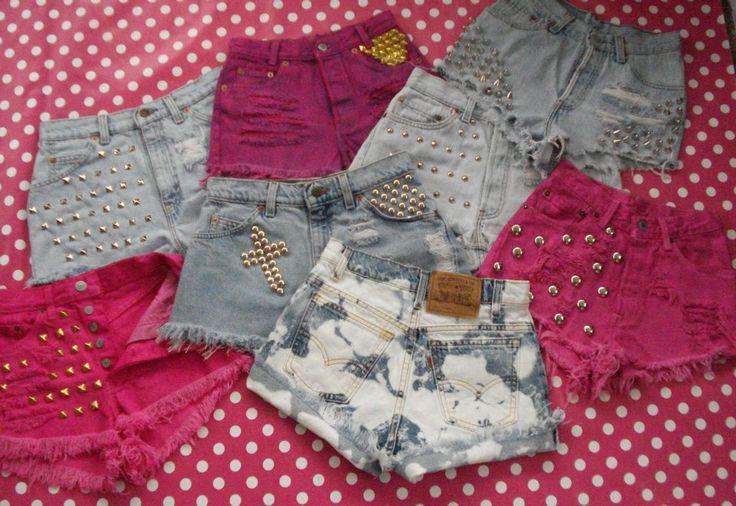 Vintage Levis Shorts & Hotpants