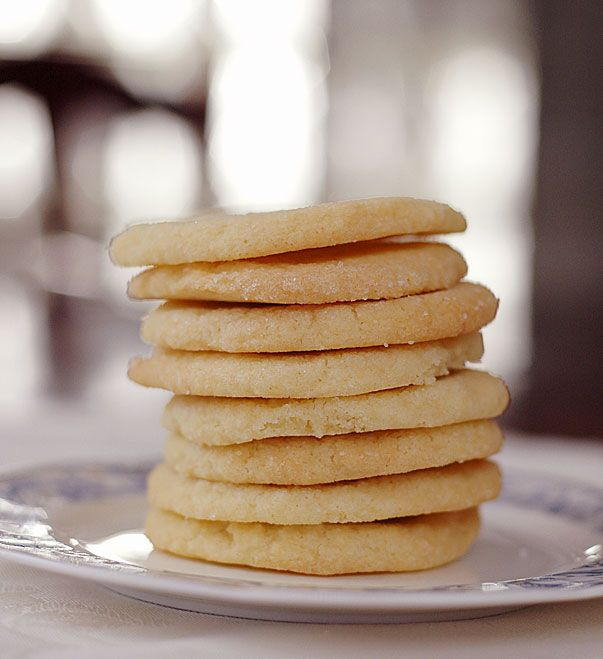 Eggless Sugar Cookies - these actually turned out pretty well, but I added about 1/2 cup more flour than called for...