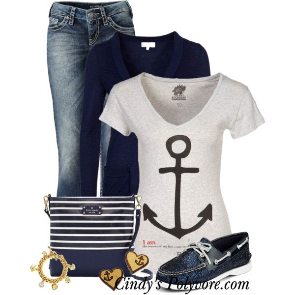 """""""Anchors"""" by cindycook10 on Polyvore"""