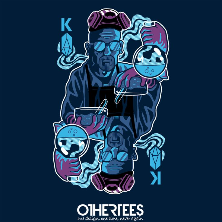 """Kin of Crystals"" by dv8sheepn Shirt on sale until 14 May on http://othertees.com #breakingbad Weekly free tee winners are now live at  http://www.othertees.com/othertees/win_free_tees/"