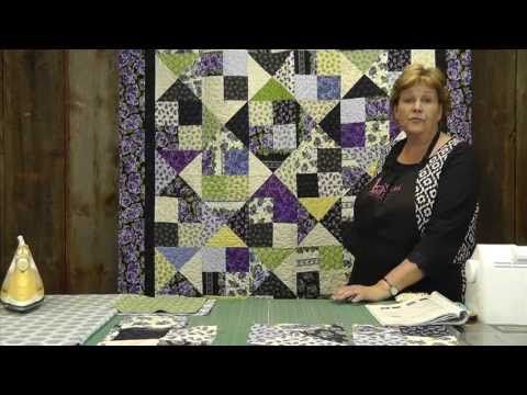 Make The Alter Ego Quilt Using Layer Cakes Youtube