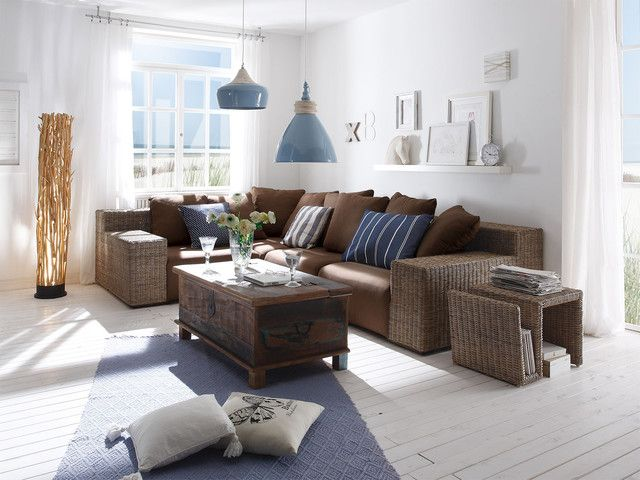 Best Wohnzimmer Ideen Braune Couch Contemporary - House Design ...