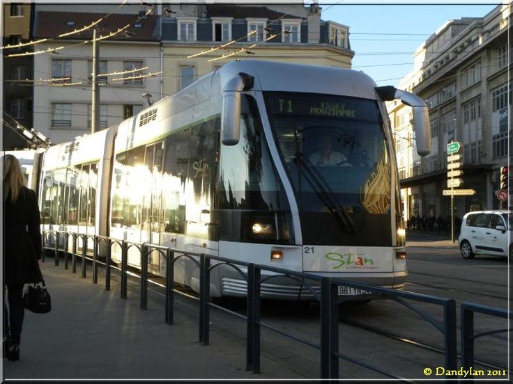 Nancy tramway