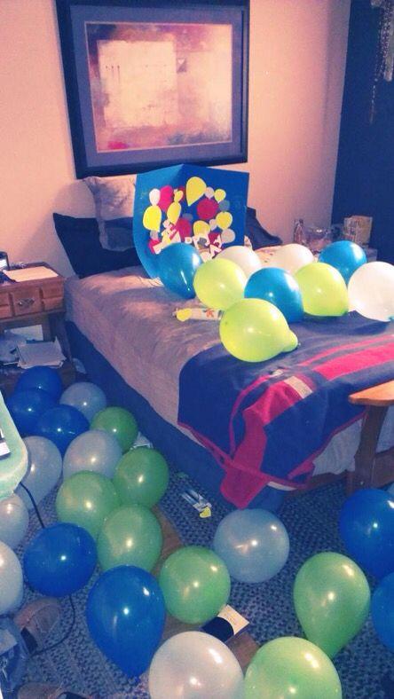Boyfriends Birthday Surprise