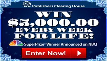 Win $5000 a WEEK For Life in PCH #Sweepstakes |  | My PCH Favorite