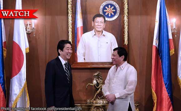 Domo arigato! Japan is a very helpful friend, President Rodrigo Duterte says