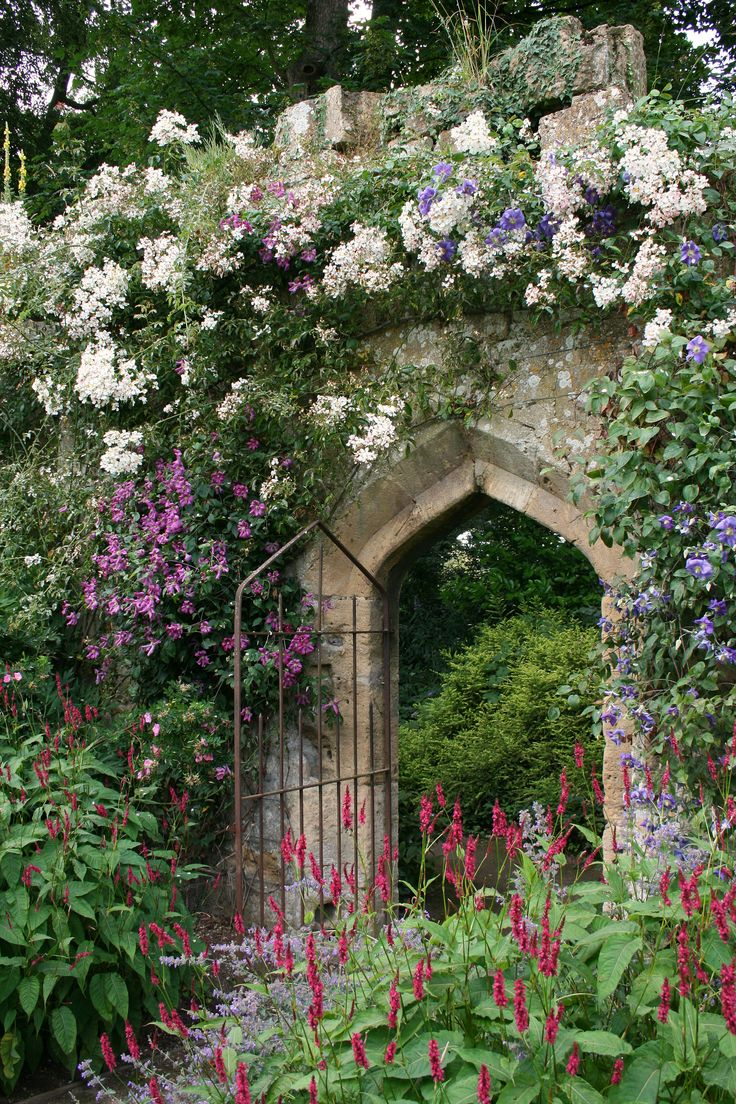 Secret Garden: Imposing Entrance To A Secret Garden