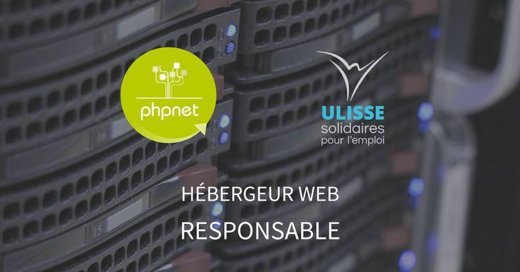 Pour le dépôt de notre vieux matériel informatique, PHPNET a choisi l'association ULISSE SOLIDURA  #Insertion #Social