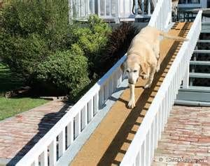 Handicap Dog Ramp home project from The Project Guy | Porch