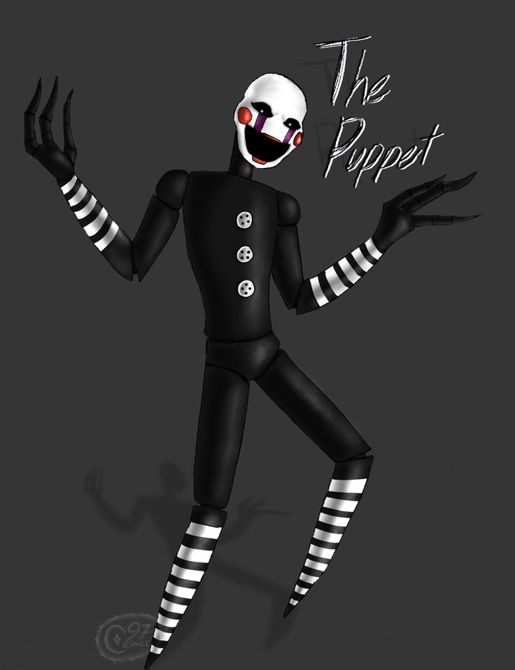 Five nights at freddys marionette human