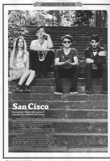 San Cisco >>>>>