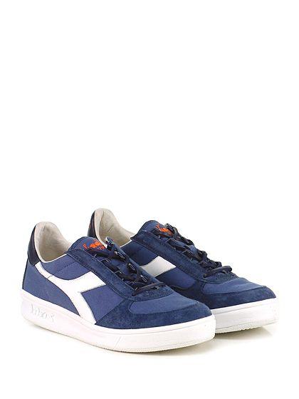DIADORA Heritage - Sneakers - Uomo - Sneaker in camoscio e tessuto effetto  delavè con suola