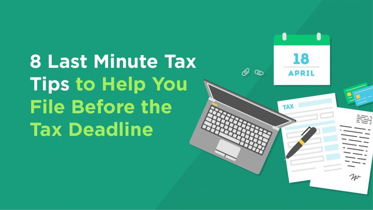 8 Last Minute Tax Tips to Help You File Before the Tax Deadline: There's just a little over a week left in the tax season. If you still have not filed,