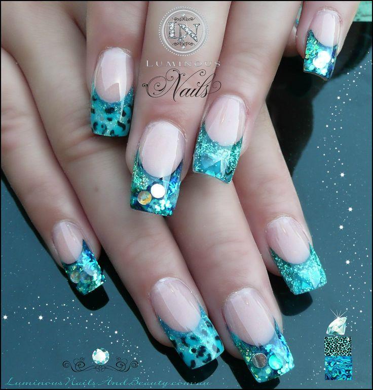 The 224 best Luminous Nails images on Pinterest | Nail scissors ...