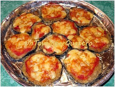 Melanzane al forno con pomodoro e mozzarella - ricette veloci