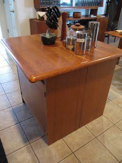Sew Many Ways...: Colleen's Corner...Make A Quick Kitchen Island