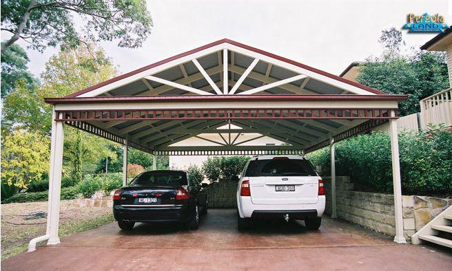 25 best ideas about free standing carport on pinterest for Carport workshop plans