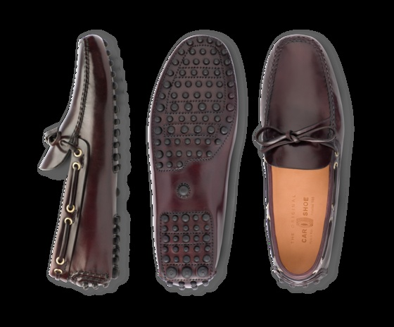 Car Shoes - shell cordovan