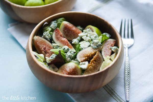 blue cheese salad little kitchen salad ideas hot pot figs salad ...