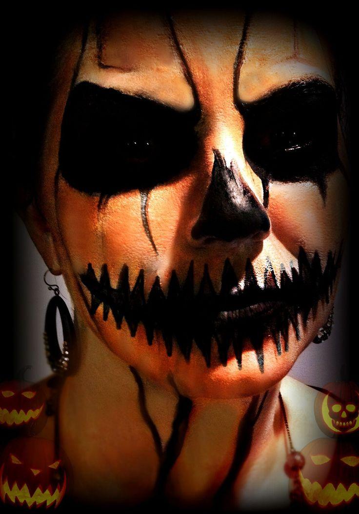35 best Skull Makeup & FX Contacts images on Pinterest | Halloween ...